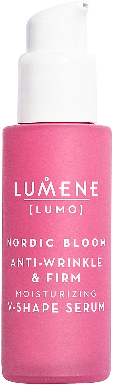 Firming and Lifting Face Serum - Lumene Lumo Nordic Bloom Anti-wrinkle & Firm Moisturizing V-Shape Serum