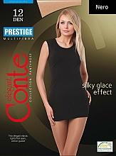 """Fragrances, Perfumes, Cosmetics Tights """"Prestige"""" 12 Den, nero - Conte"""