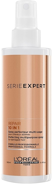 10-in-1 Multifunctional Spray - L'Oreal Professionnel Absolut Repair 10-in-1 Perfecting Multipurpose Spray