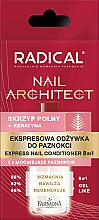 Fragrances, Perfumes, Cosmetics Nail Express-Conditioner 8 in 1 - Farmona Radical Nail Architect Express 8in1