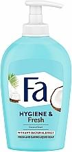 "Fragrances, Perfumes, Cosmetics Liquid Soap ""Coconut Water"" - Fa Coconut Water Soap"