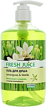 "Shower Gel ""Lemongrass & Vanilla"" - Fresh Juice Sexy Mix Lemongrass & Vanilla — photo N3"