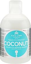 Fragrances, Perfumes, Cosmetics Nourishing & Strengthening Coconut Oil Shampooo - Kallos Cosmetics Coconut Shampoo
