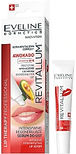 Fragrances, Perfumes, Cosmetics Lip Serum - Eveline Cosmetics Lip Therapy Professional Awocado Intensive Lip Serum
