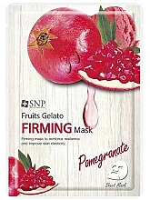 Fragrances, Perfumes, Cosmetics Firming Pomegranate Face Mask - SNP Fruits Gelato Firming Mask