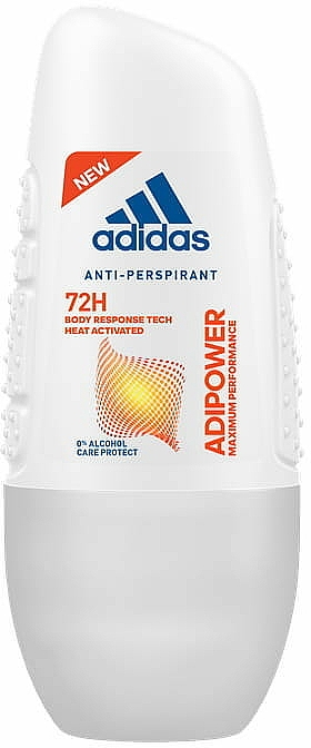 Roll-On Antiperspirant - Adidas Adipower Roll-On Woman 72H