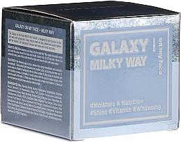 Fragrances, Perfumes, Cosmetics Exfoliating Face Mask - Dermal Yeppen Skin Galaxy Milky Way On My Face