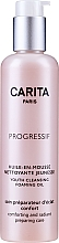 Fragrances, Perfumes, Cosmetics Makeup Removing Cleansing Oily Mousse - Carita Progressif Youth Cleansing Foaming Oil