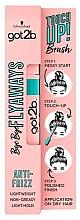 Fragrances, Perfumes, Cosmetics Thin Hair Styler - Schwarzkopf Got2b Bye Bye Flayaways Touch Up Brush