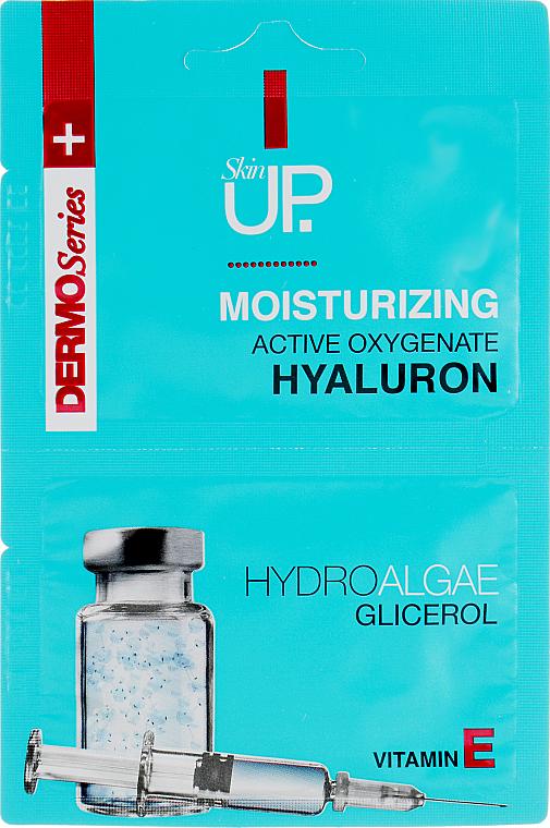 Moisturizing Face Mask with Hyaluronic Acid, Green Algae & Vitamin E - Verona Laboratories DermoSerier Skin Up Face Mask