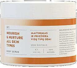 Fragrances, Perfumes, Cosmetics Nourishing Body Scrub - You & Oil Nourish & Nuture