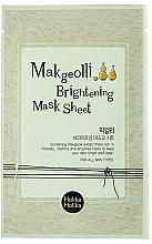 Fragrances, Perfumes, Cosmetics Makgeolli Sheet Mask - Holika Holika Makgeolli Brightening Mask Sheet
