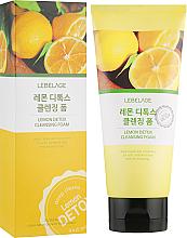 Fragrances, Perfumes, Cosmetics Lemon Detox Cleansing Foam - Lebelage Lemon Detox Cleansing Foam