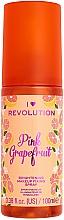 Fragrances, Perfumes, Cosmetics Makeup Fixing Spray - I Heart Revolution Fixing Spray Grapefruit