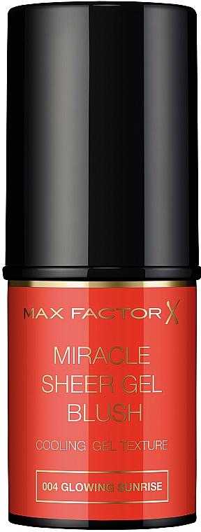 Stick Blush - Max Factor Miracle Sheer Gel Blush Stick