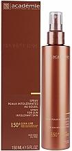 Fragrances, Perfumes, Cosmetics Sunscreen Spray for Sensitive Skin SPF 50+ - Academie Bronzecran Body Spray