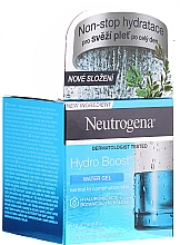 Fragrances, Perfumes, Cosmetics Face Gel for Normal & Combination Skin - Neutrogena Hydro Boost Water Gel For Normal & Combination Skin
