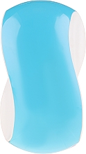 Fragrances, Perfumes, Cosmetics Hair Brush, blue with white - Twish Spiky 1 Hair Brush Sky Blue & White