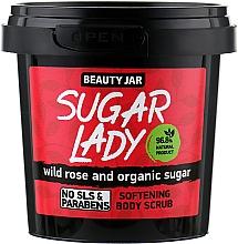 """Fragrances, Perfumes, Cosmetics Softening Body Scrub """"Sugar Lady"""" - Beauty Jar Softening Body Scrub"""