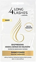 Fragrances, Perfumes, Cosmetics Hair Serum Mask - Long4Lashes Hair Shine Power
