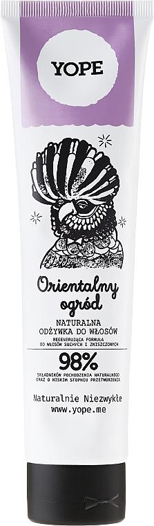 "Natural Dry & Damaged Hair Conditioner ""Oriental Garden"" - Yope"