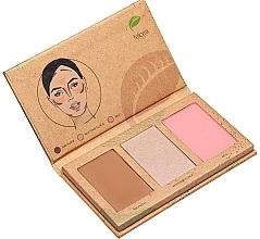 Fragrances, Perfumes, Cosmetics Makeup Palette - Felicea Natural Trio Palette