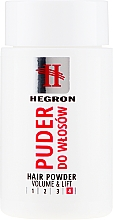 Fragrances, Perfumes, Cosmetics Volume Hair Powder - Hegron Hair Powder Volume&Lift