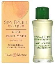 Fragrances, Perfumes, Cosmetics Frais Monde Spa Fruit Peach And White Musk Perfumed Oil - Perfumed Oil