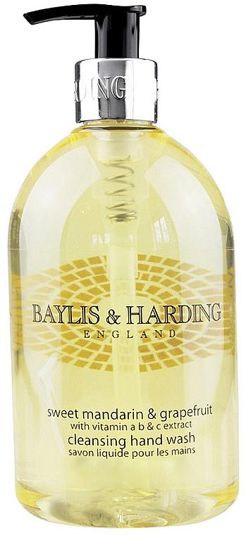 Hand Liquid Soap - Baylis & Harding Sweet Mandarin & Grapefruit Hand Wash
