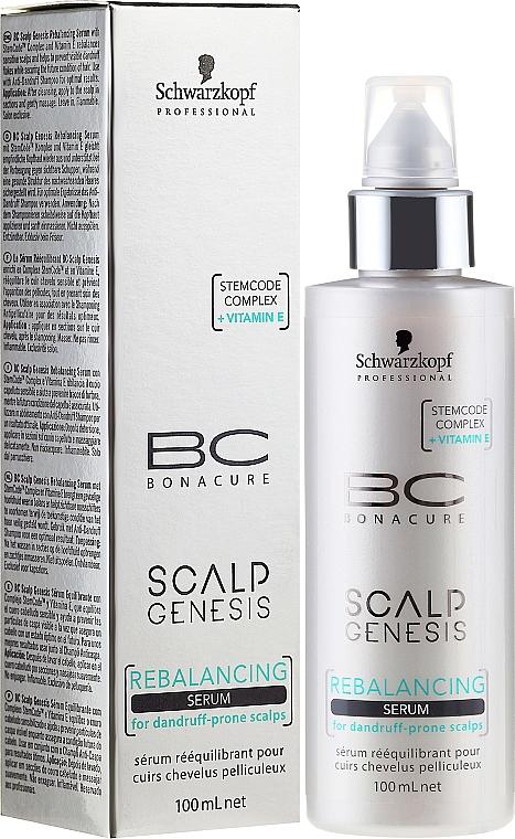 Hair Serum - Schwarzkopf Professional BC Scalp Genesis Rebalancing Serum