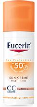 Fragrances, Perfumes, Cosmetics CC Cream - Eucerin CC-creme Sunscreen for face SPF 50+