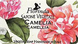 Fragrances, Perfumes, Cosmetics Camellia Natural Soap - Florinda Sapone Vegetale Camellia