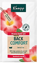 Fragrances, Perfumes, Cosmetics Back Comfort Bath Salt - Kneipp Mineral Bath Salt Back Comfort Devils Claw
