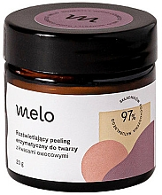 Fragrances, Perfumes, Cosmetics Enzymatic Peeling with Fruit Acids - Melo