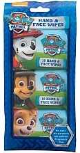 Fragrances, Perfumes, Cosmetics Wet Wipes - Nickelodeon Paw Patrol Hand & Face Wipes