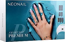 Fragrances, Perfumes, Cosmetics Starter Set - NeoNail Professional Smart Set Premium (n/polish/5x3ml + n/base/7.2ml + n/top/7.2ml + lamp/1pc + n/cleaner/50ml + n/remover/50ml + n/pads/250pcs + nail/file/2pcs)