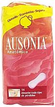 Fragrances, Perfumes, Cosmetics Daily Pantyliners Anatomica Sanitary Towels, 14 pcs - Ausonia