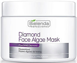 Fragrances, Perfumes, Cosmetics Diamond Algae Mask - Bielenda Professional Diamond Face Algae Mask