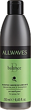Fragrances, Perfumes, Cosmetics Oily Hair Shampoo - Allwaves Balance Sebum Balancing Shampoo