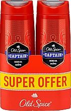 Fragrances, Perfumes, Cosmetics Shampoo-Shower Gel 2in1 - Old Spice Captain Shower Gel + Shampoo