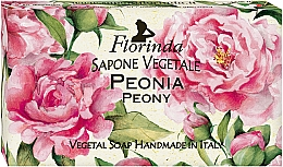 "Fragrances, Perfumes, Cosmetics Natural Soap ""Peony"" - Florinda Peony Natural Soap"