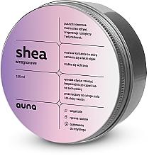 Fragrances, Perfumes, Cosmetics Grape Face & Body Shea Butter - Auna Shea Grape Butter