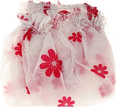 Fragrances, Perfumes, Cosmetics Shower Cap, 9298, white-pink - Donegal
