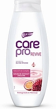 """Fragrances, Perfumes, Cosmetics Shower Gel """"Pomegranate and Passion Fruit"""" - Luksja Care Pro Revive Shower Gel"""