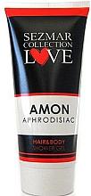 "Fragrances, Perfumes, Cosmetics Hair & Body Shower Gel with Aphrodisiac ""Amon"" - Sezmar Collection Love Amon Hair&Body Shower Gel"