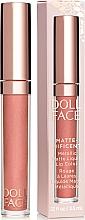 Fragrances, Perfumes, Cosmetics Liquid Matte Lipstick - Doll Face Matte Metallic Liquid Lip Color