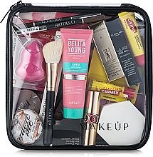 "Fragrances, Perfumes, Cosmetics Clear Makeup Bag ""Visible Bag"" 20x20x8 cm - MakeUp"