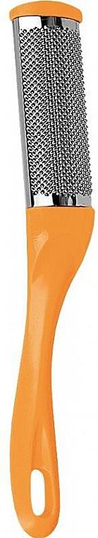 Pedicure File, metal, orange - Donegal Steel Heel File