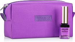 "Fragrances, Perfumes, Cosmetics Purple Makeup Bag ""Girl's Travel"" - MakeUp"