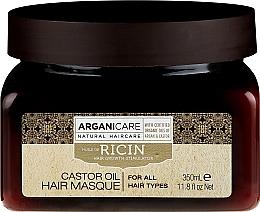 Fragrances, Perfumes, Cosmetics Hair Growth Stimulating Mask - Arganicare Castor Oil Hair Masque
